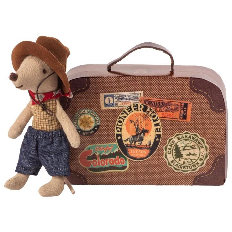 MAILEG Cowboy i en kuffert Little brother mouse-32