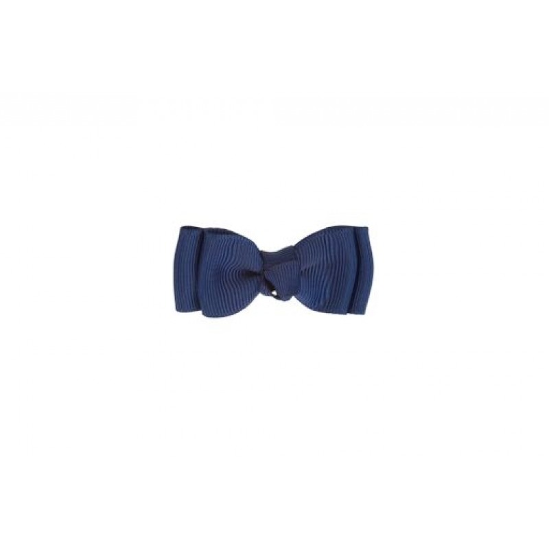 BOW´S BY STÆR Click double bow Navy-31