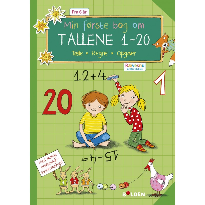 FORLAGET BOLDEN Rævesnu: Min første bog om tallene 1-20-31
