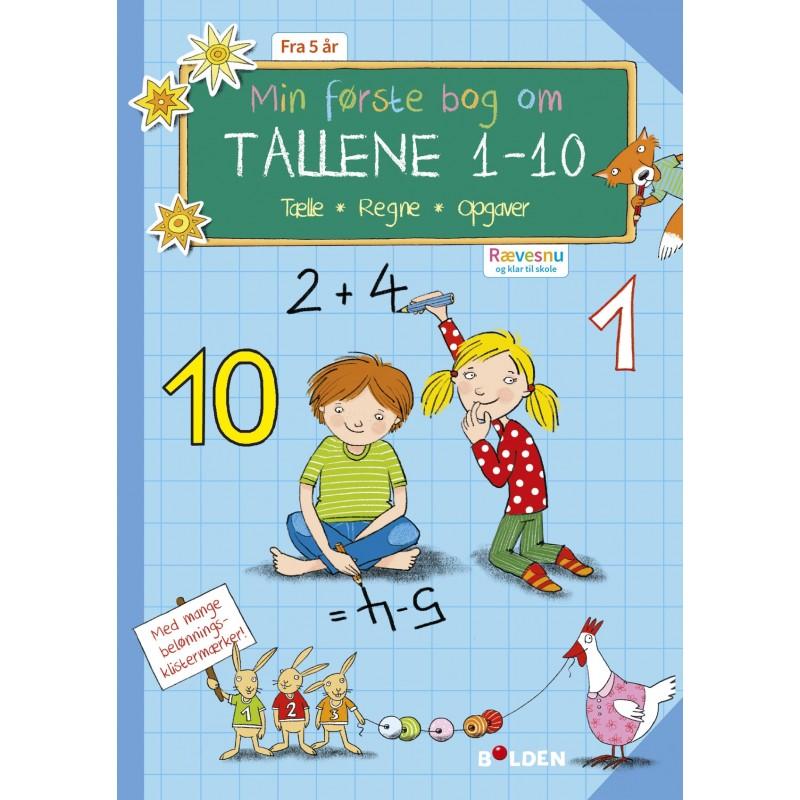 FORLAGET BOLDEN Rævesnu: Min første bog om tallene 1-10-32