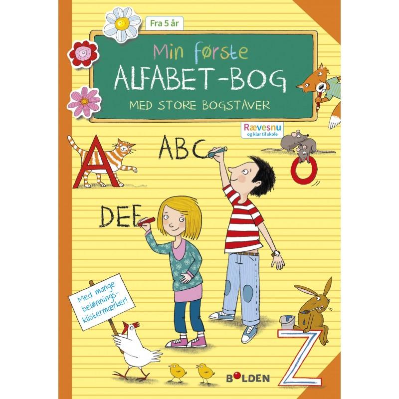 FORLAGET BOLDEN Rævesnu: Min første alfabet-bog med store bogstaver-33