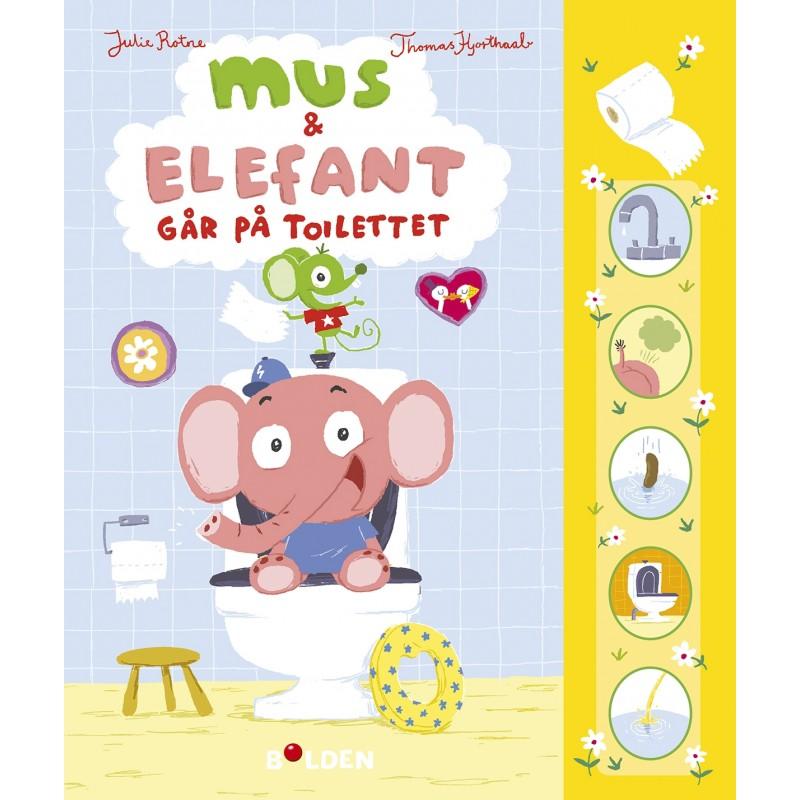 FORLAGET BOLDEN Mus og Elefant går på toilettet-34