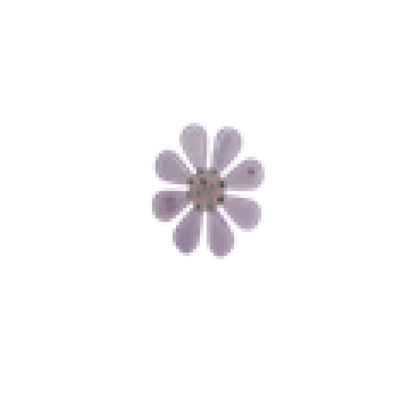 BOW´S BY STÆR Flower Light purple-312