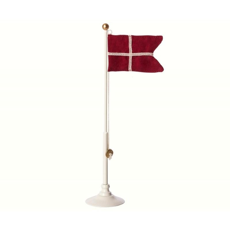 MAILEG Klassisk bordflag 25,5 cm højt-01