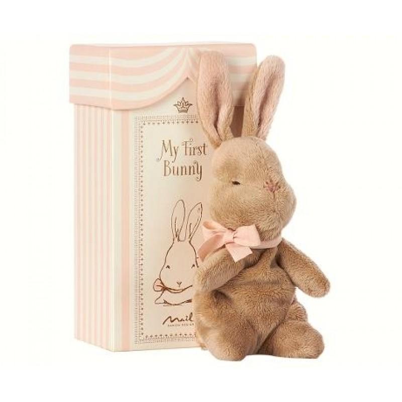 MAILEG My first bunny in box lyserød-34