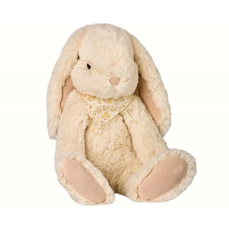 MAILEG Fluffy bunny large råhvid-31