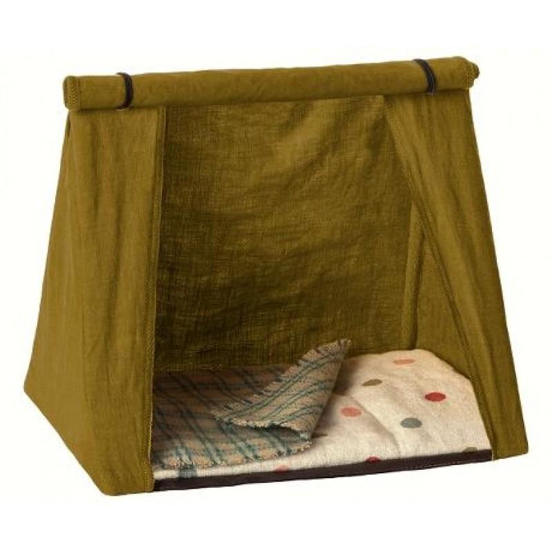 MAILEG Happy camper telt olivengrønt-31
