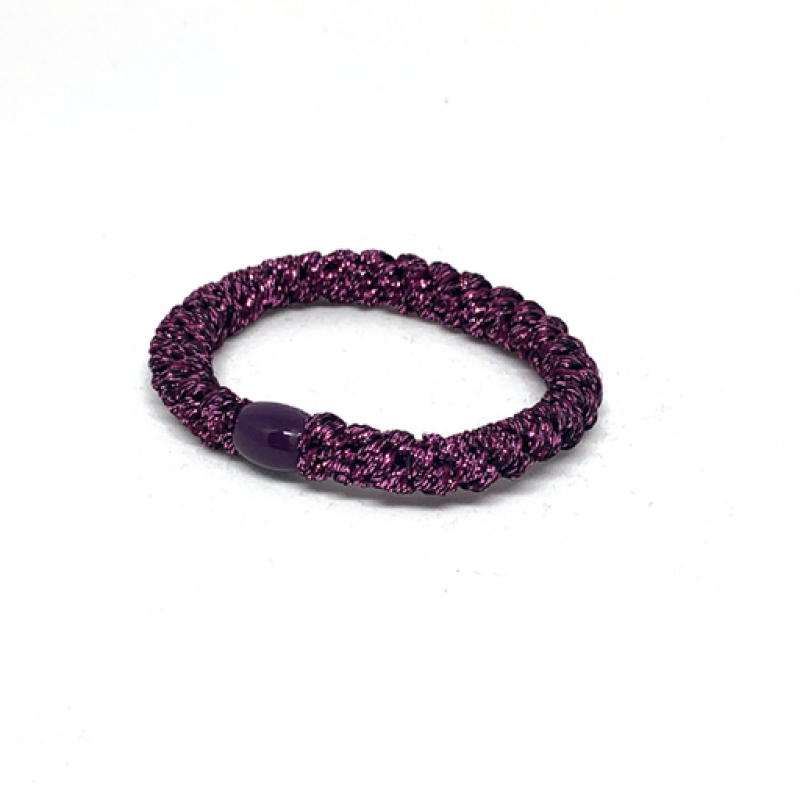 BOW´S BY STÆR Hairties Glitter Purple metalic-31