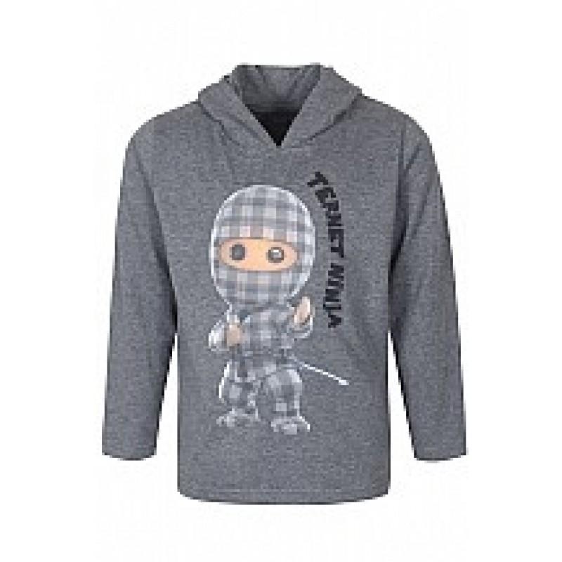 KIDS UP Ternet Ninja Trøje Grå-36