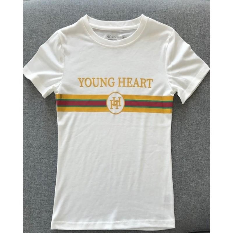 HOUND YOUNG HEART T-SHIRT HVID-31