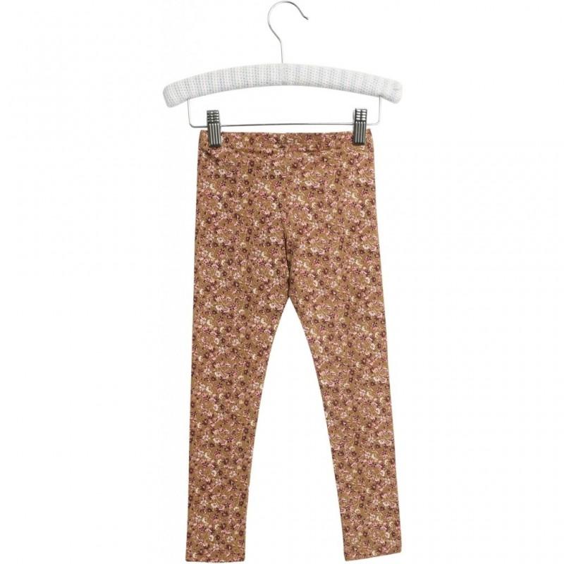 WHEAT jersey leggings Caramel Flowers-36