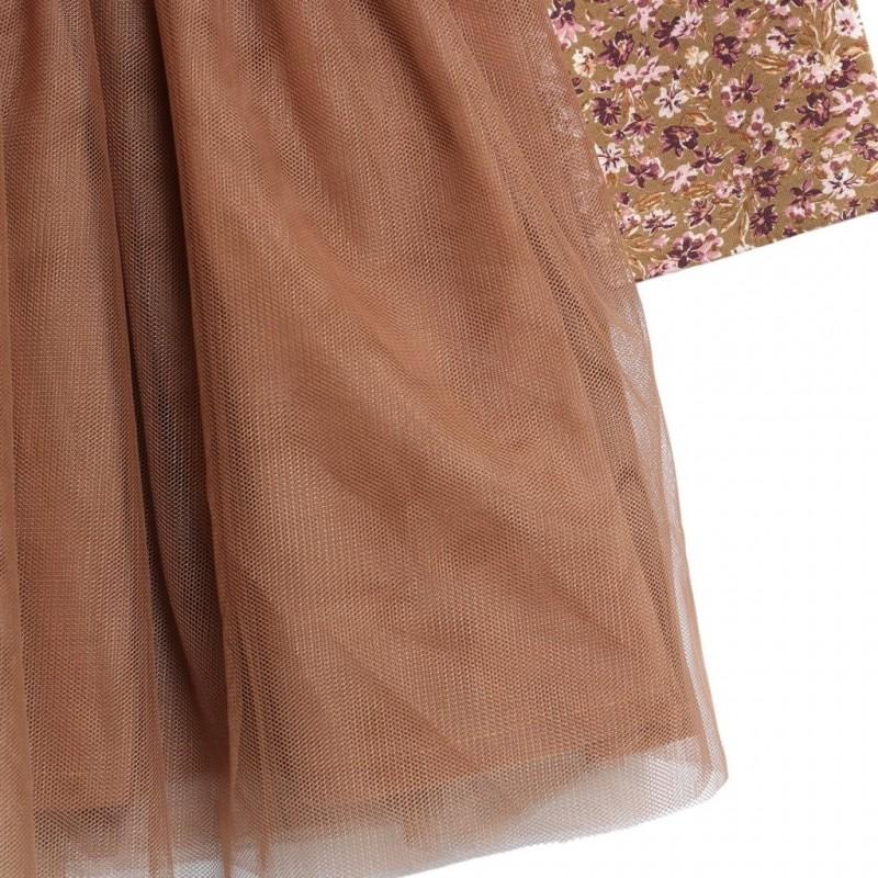 WHEAT Jersey tylkjole mathilde Caramel flowers-01