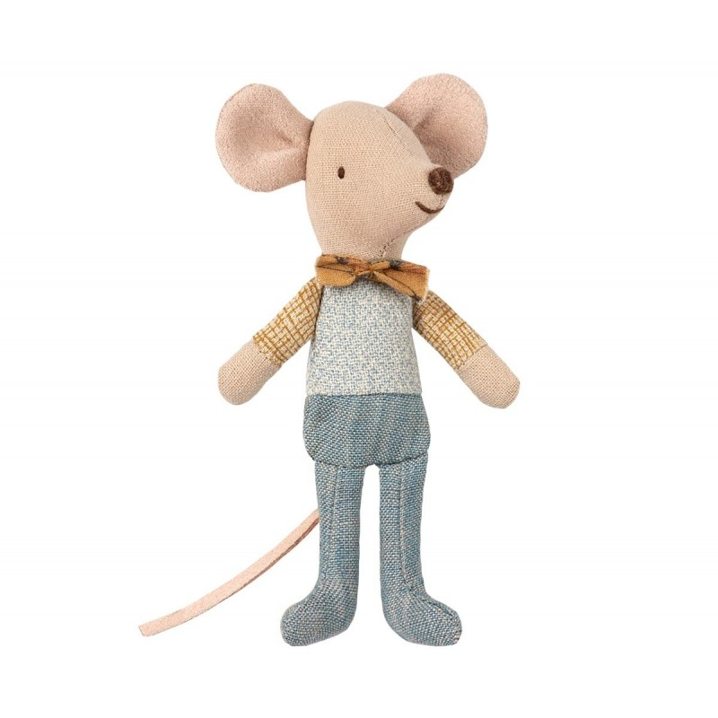 MAILEG Little brother mouse in box-33