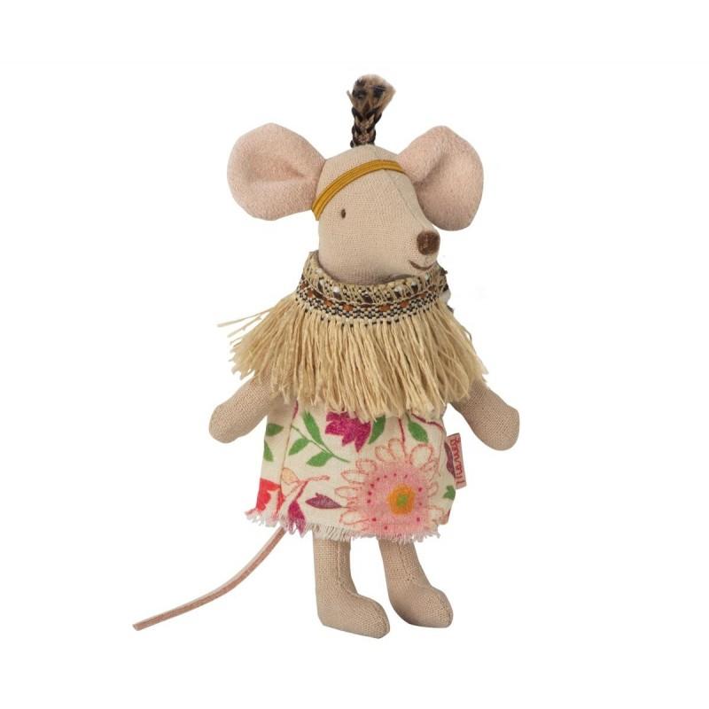 MAILEG Indianertelt incl Little sister mouse-31