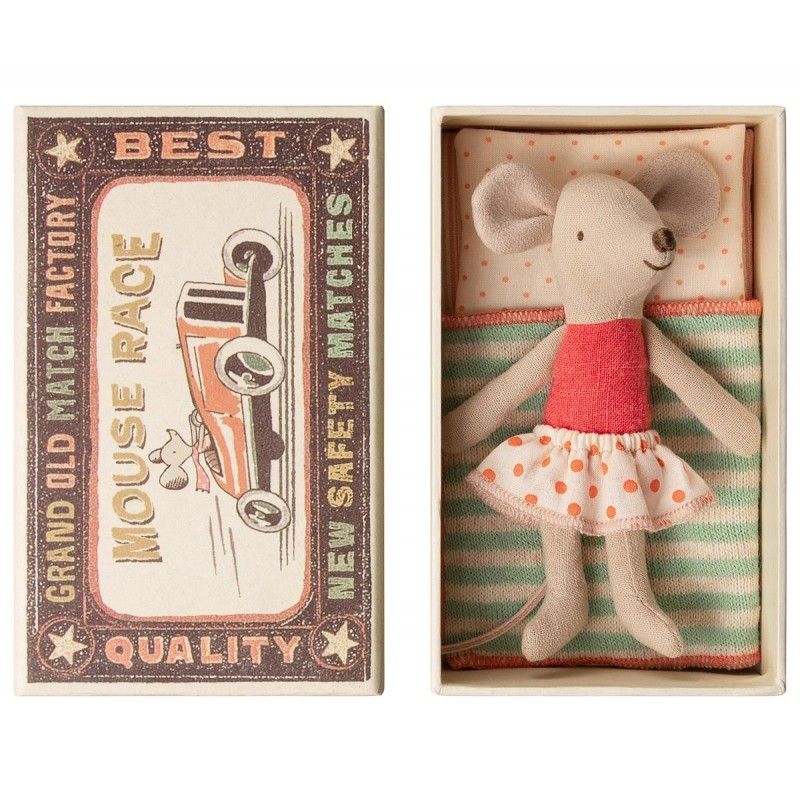 MAILEG Little sister mouse in box-02