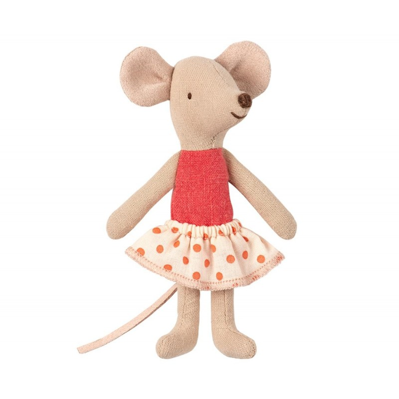 MAILEG Little sister mouse in box-32