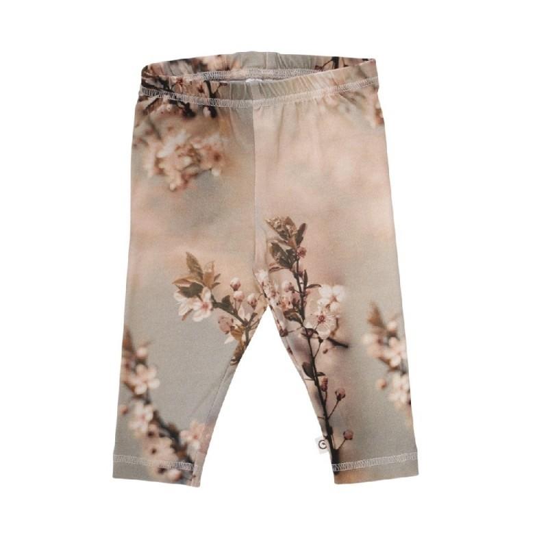Spicy leggings with birds rosa-32