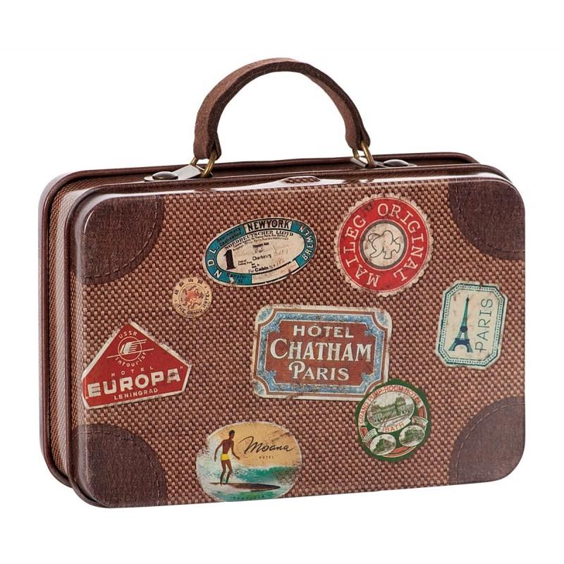 MAILEG kuffert Brown Travel-32