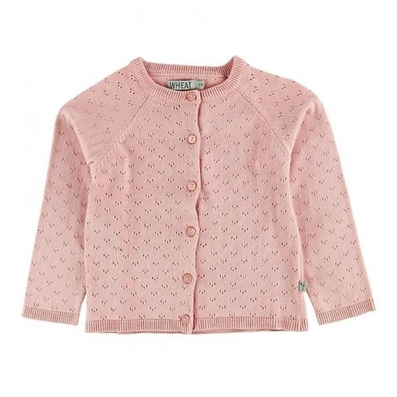 WHEAT Knit cardigan Maja misty rose-32