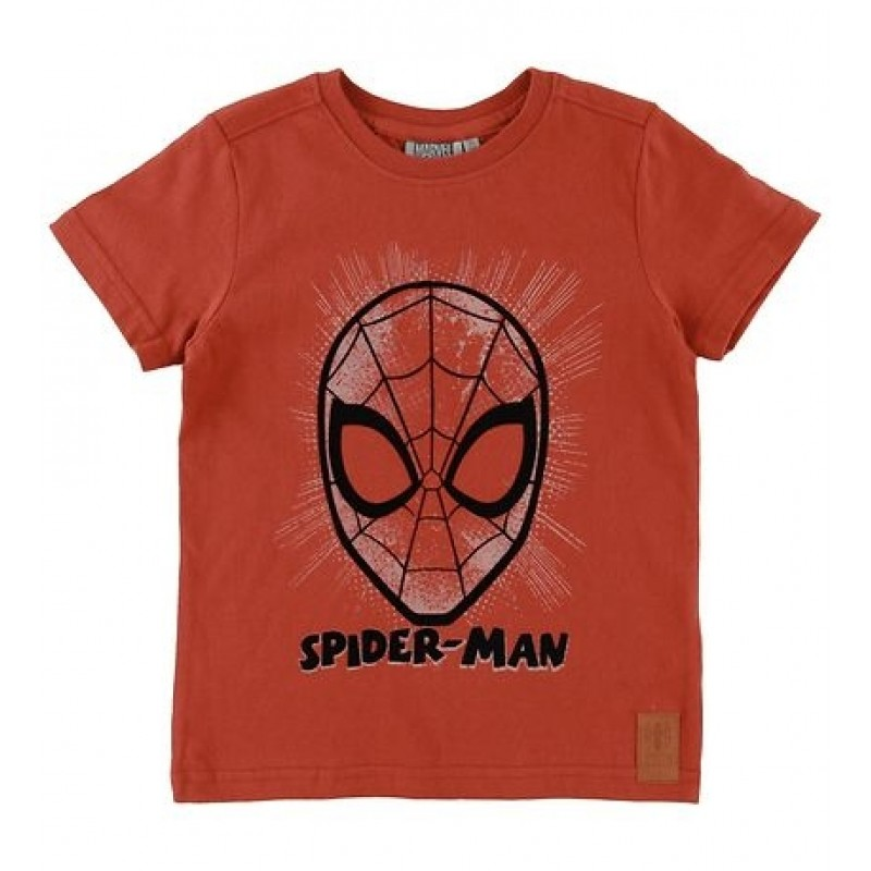 WHEAT T-shirt Spider face Paprika-31
