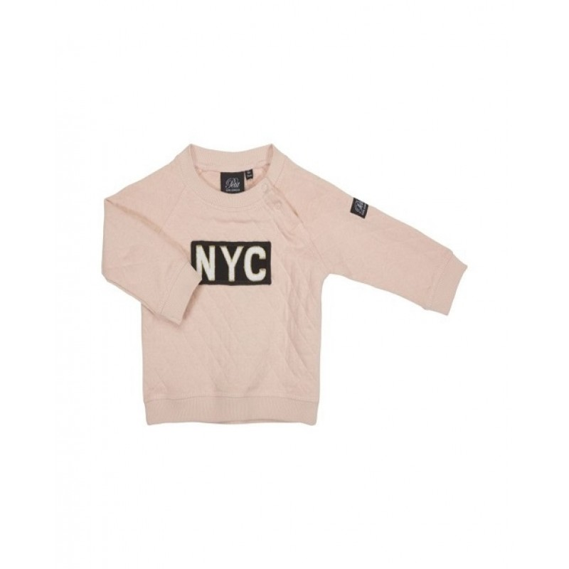"SWEATSHIRT MED ""NYC"" PUDDER-311"