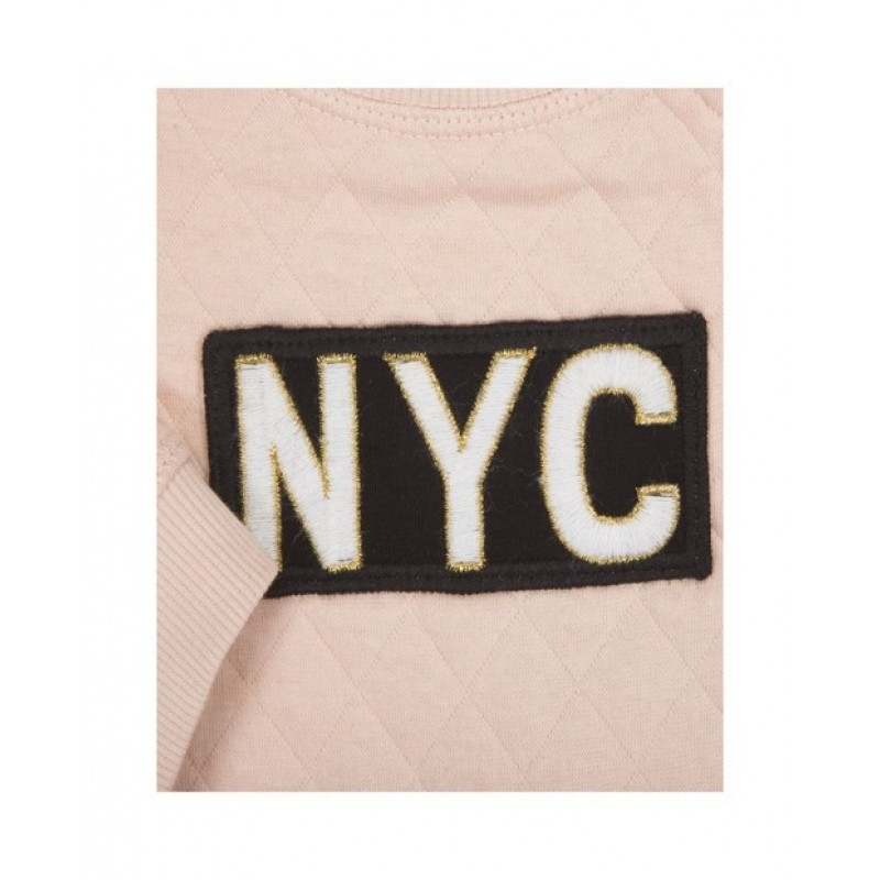 "SWEATSHIRT MED ""NYC"" PUDDER-011"