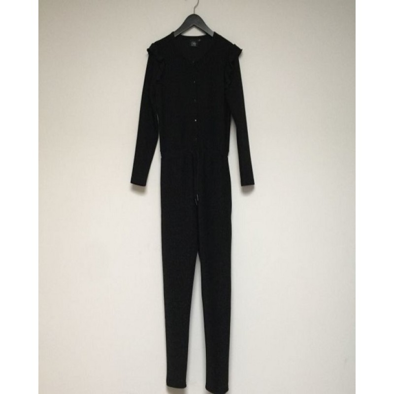PETIT BY SOFIE SCHNOOR Jumpsuit i sort glimmer-31