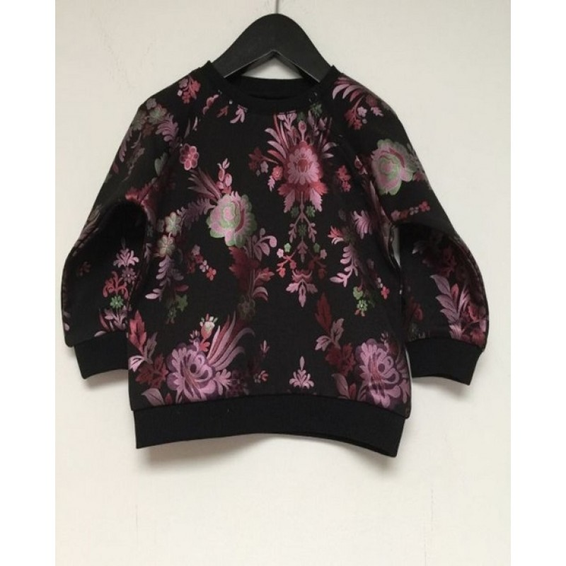 PETIT BY SOFIE SCHNOOR Sweatshirt med blomsterprint sort-32