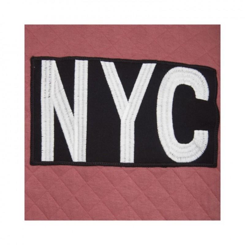 """PETIT BY SOFIE SCHNOOR SWEATSHIRT MED """"NYC"""" PEARL ROSE-011"""