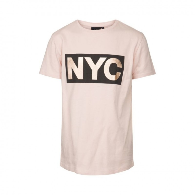 PETIT BY SOFIE SCHNOOR T-shirt med NYC-print cameo rose-310