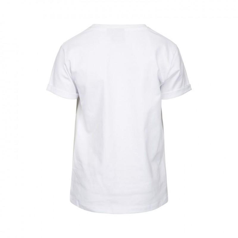 PETIT BY SOFIE SCHNOOR MAGNIFIQUE T-shirt hvid med guld og rosa print-07