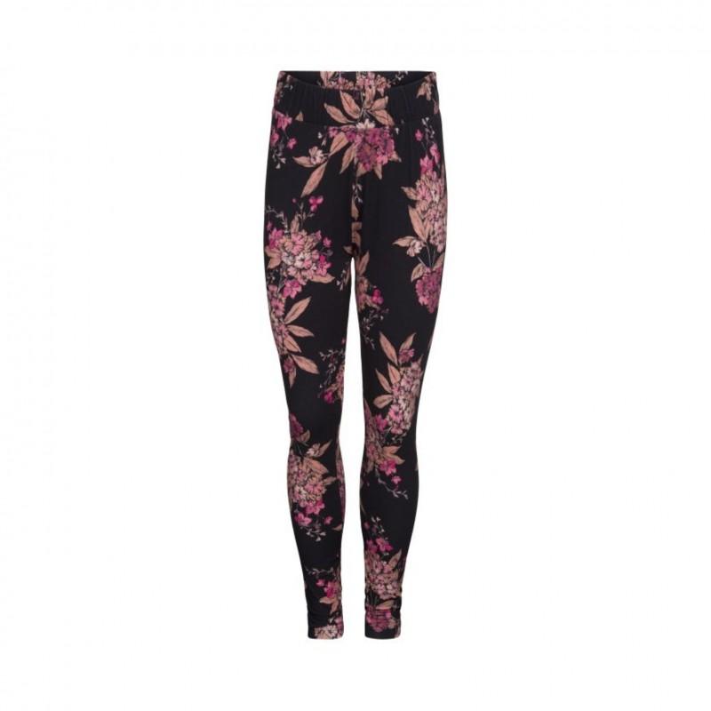 PETIT BY SOFIE SCHNOOR Bløde leggings i smukt blomsterprint sort-33