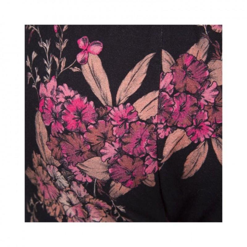 PETIT BY SOFIE SCHNOOR Bløde leggings i smukt blomsterprint sort-03
