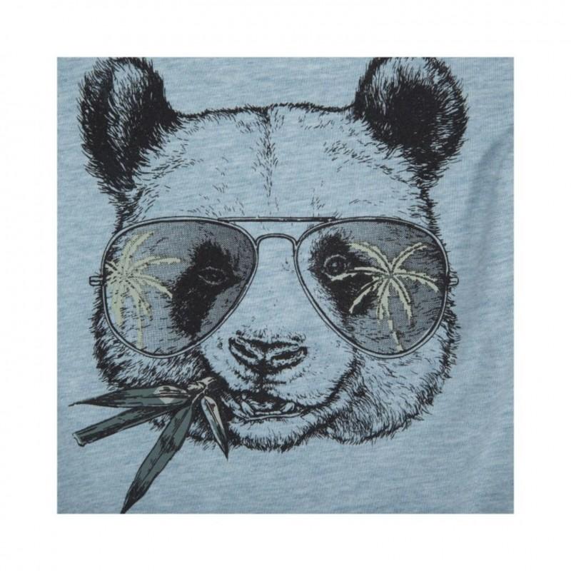 PETIT BY SOFIE SCHNOOR Sød langærmet body med panda print lyseblå-06