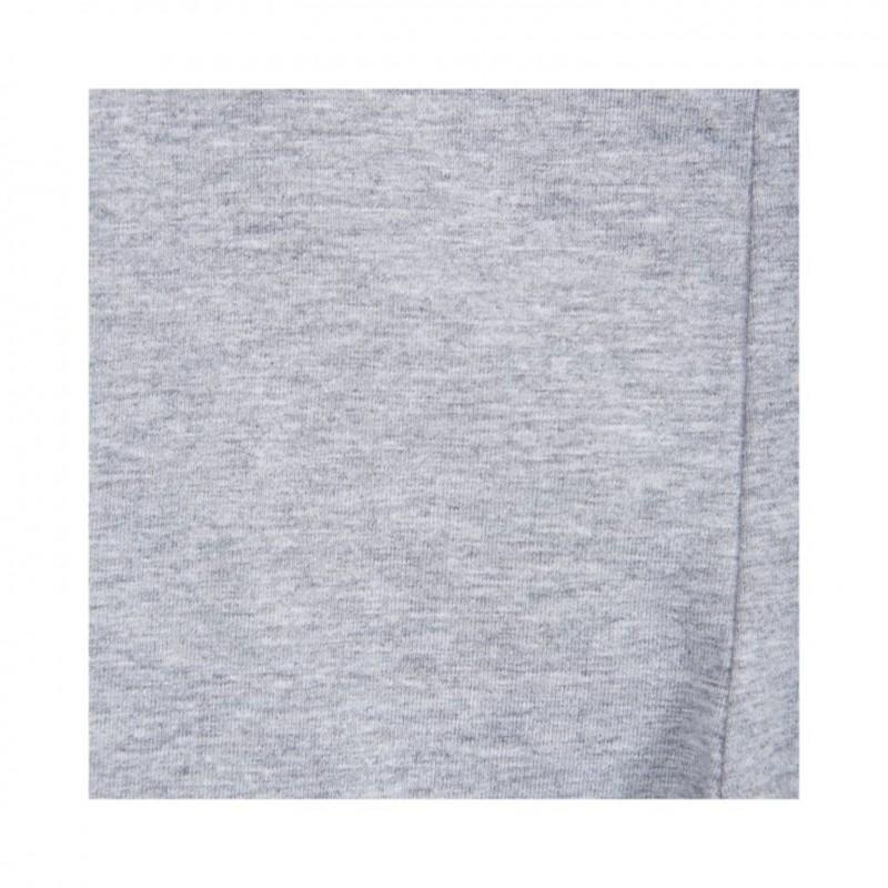 PETIT BY SOFIE SCHNOOR Leggings med elastik og bindebånd i taljen light grey melange-03