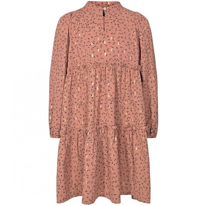 PETIT BY SOFIE SCHNOOR kjole Karen Rosy Brown-31