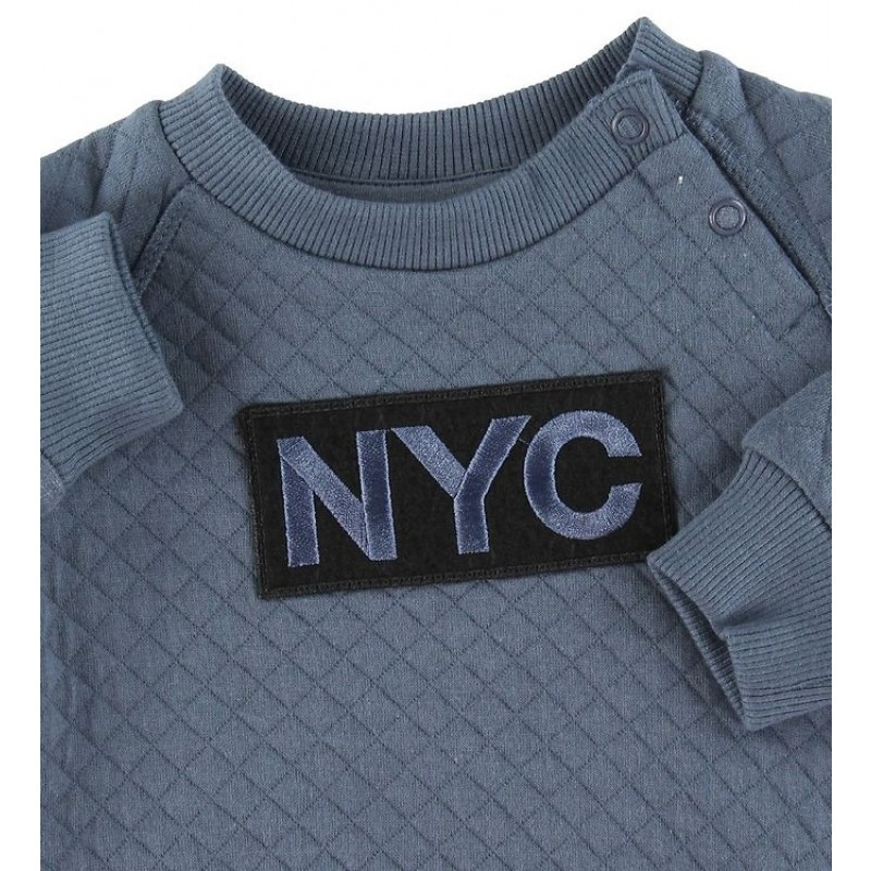 PETIT BY SOFIE SCHNOOR NYC Sweat Middle Blue-02