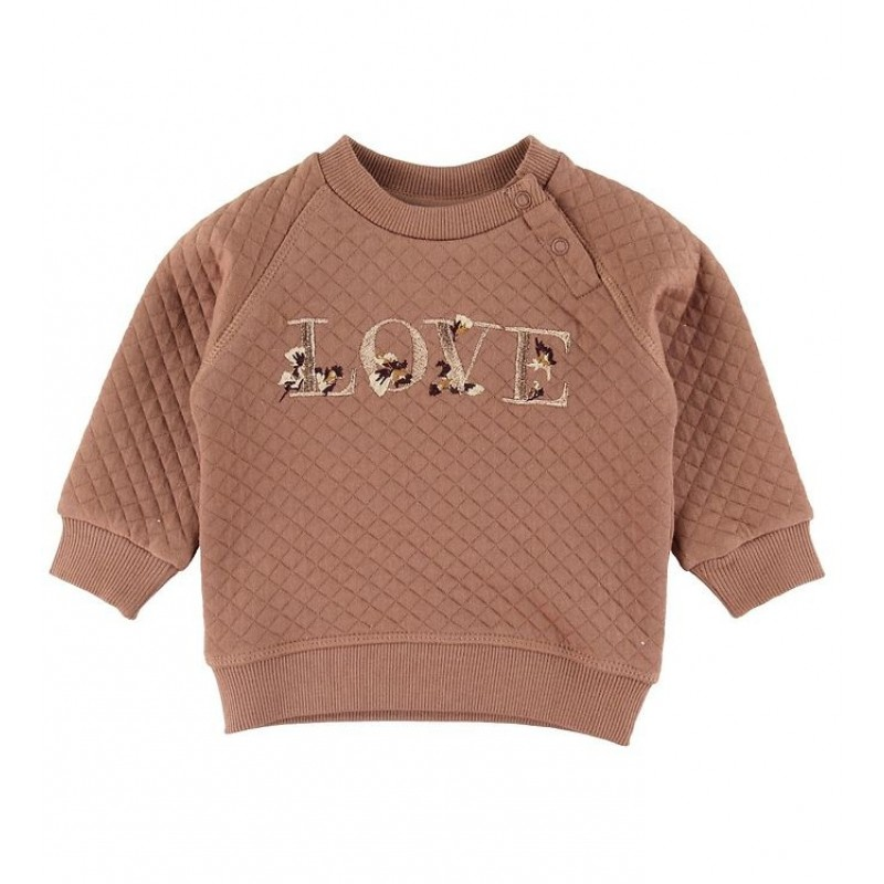 PETIT BY SOFIE SCHNOOR Sweat Emily Rosy Brown-31