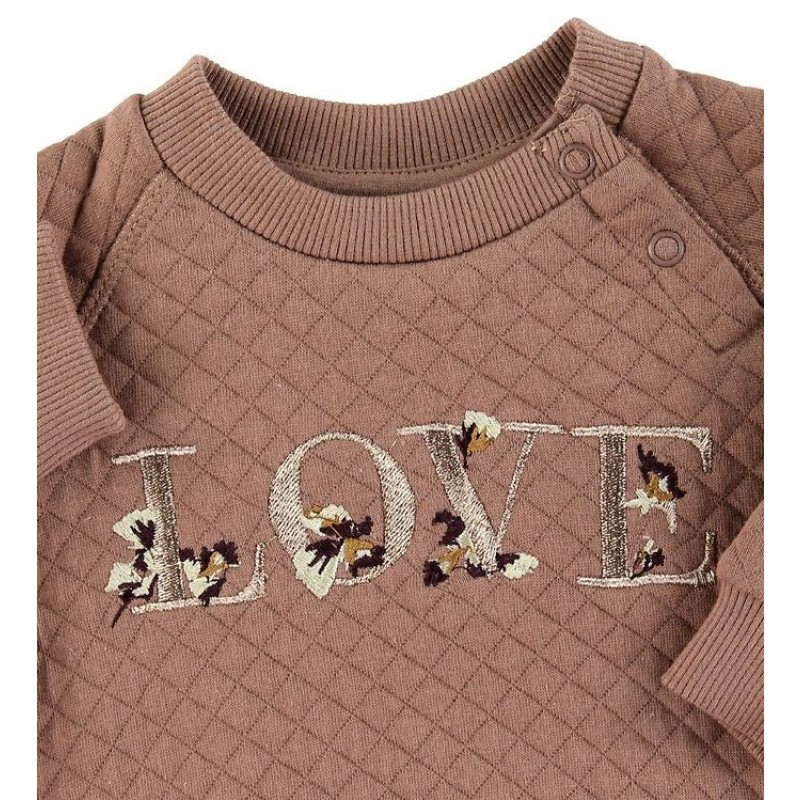 PETIT BY SOFIE SCHNOOR Sweat Emily Rosy Brown-01