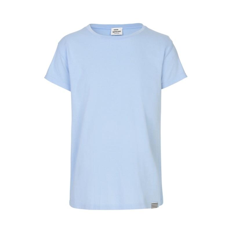 MADS NØRGAARD Smart, klassisk T-shirt lyseblå-33