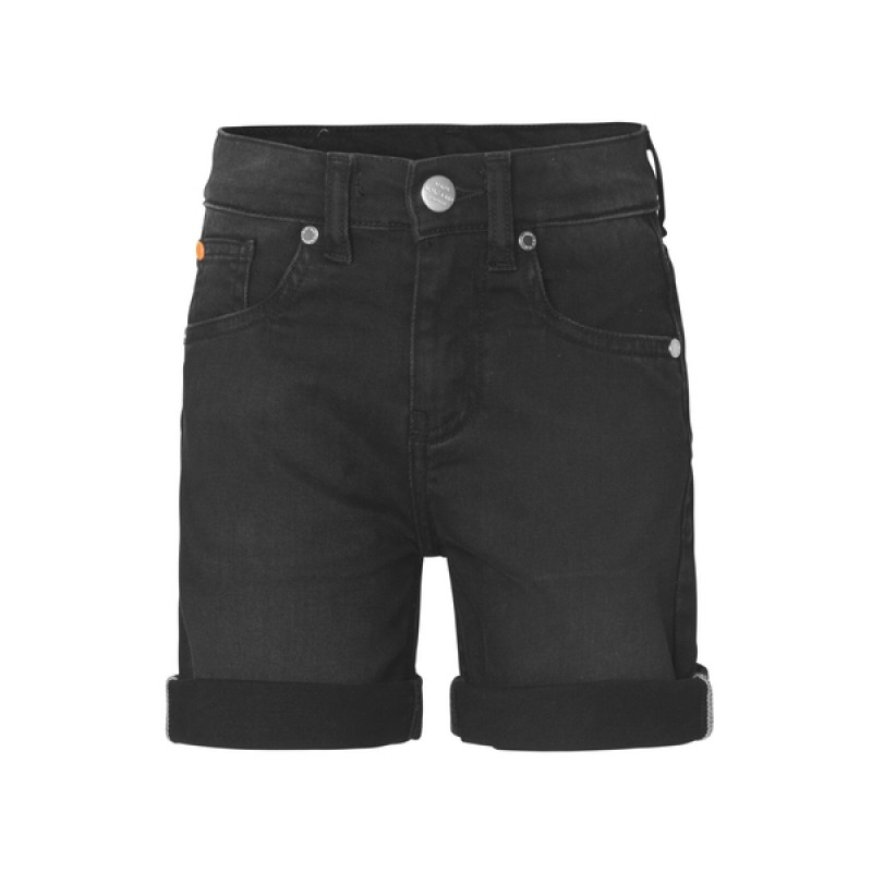 MADS NØRGAARD Jagino short Washed black-01