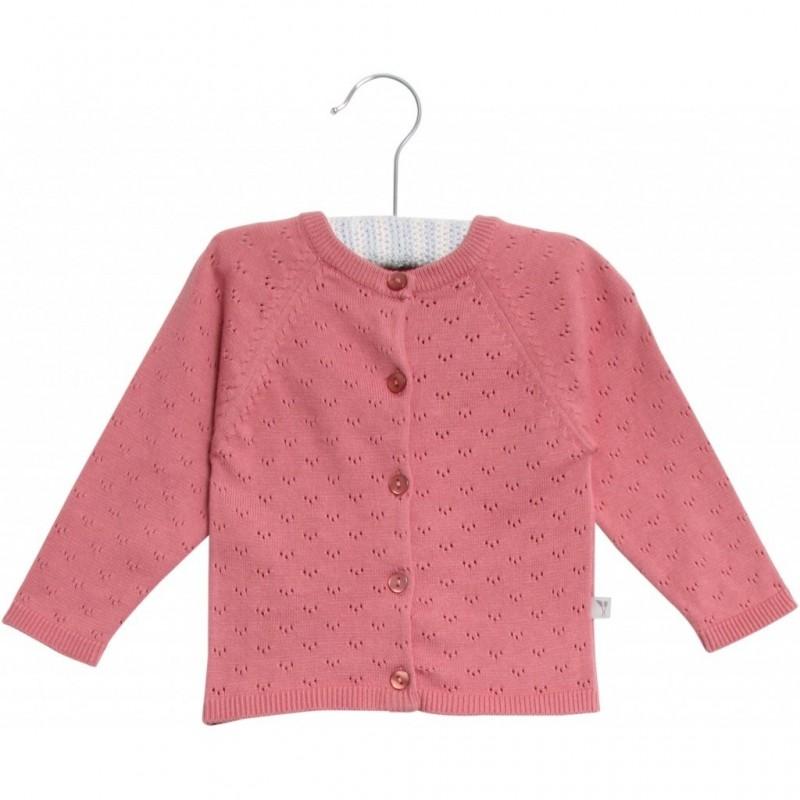 WHEAT Knit cardigan Maja Peach Rose-34