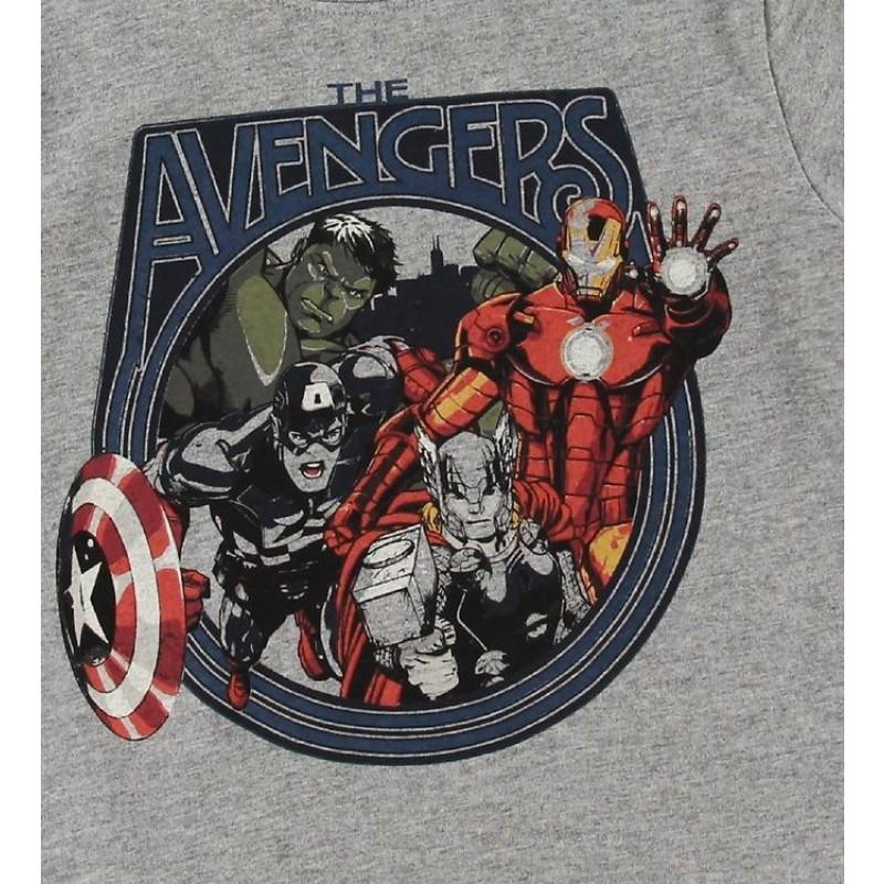 WHEAT T-shirt Marvel Melange grey-01
