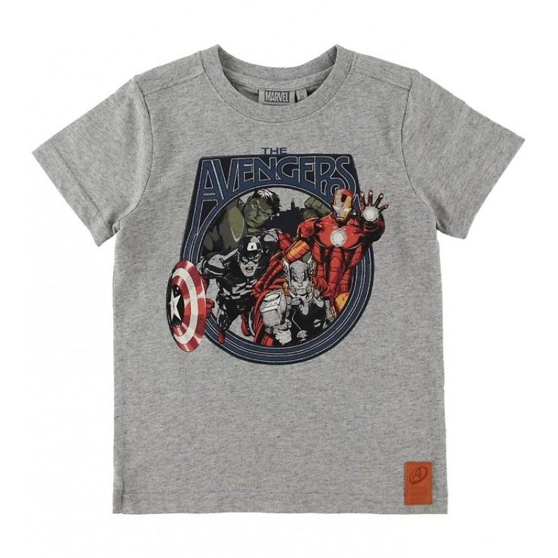 WHEAT T-shirt Marvel Melange grey-31