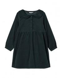 NAME IT Fløjls kjole Grøn-20