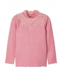 NAME IT Langærmet T-shirt Rosa-20