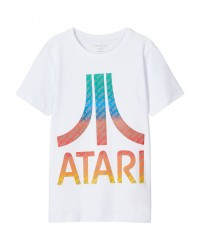 NAME IT T-shirt Atari Hvid-20