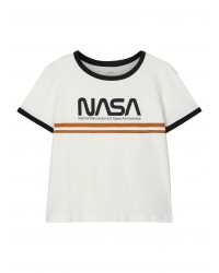 NAME IT T-Shirt NASA Hvid-20