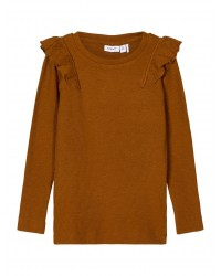 NAME IT Langærmet T-shirt Rib Monks Robe-20
