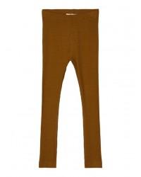 NAME IT Leggings Rib Brun-20